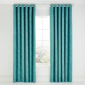 Baja Curtains, L229 x W168cm, citrus
