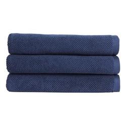 Brixton Pair of bath towels, L70 x W125cm, midnight