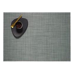 Basketweave Set of 4 rectangular placemats, 36 x 48cm, jade