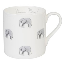 ZSL Elephant Large mug, 425ml, multi