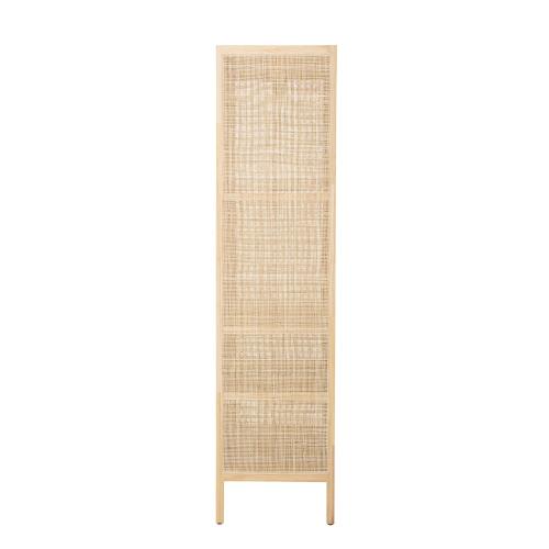 Mariana Cabinet, H180 x W45 x L85cm, Beige/ Natural