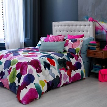 Abstract Double duvet cover set, L200 x W200cm
