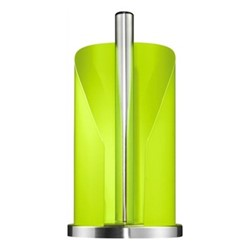 Paper roll holder, H30 x W15 x D15cm, lime green