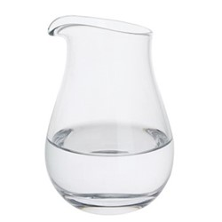 Whisky Splash water jug, H14cm - 44cl, clear