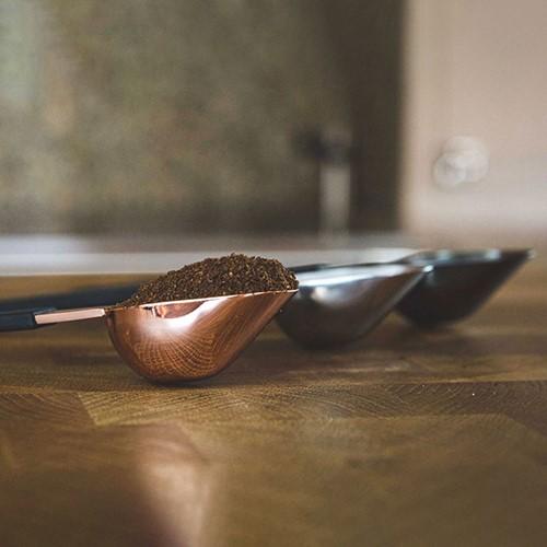 The Scoop Coffee measuring spoon, L4.5 x W2.5 x H19.5cm, Black