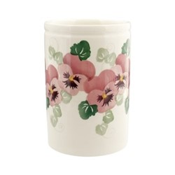 Pink Pansy Medium vase, H15.2 x W10.2cm - 852ml