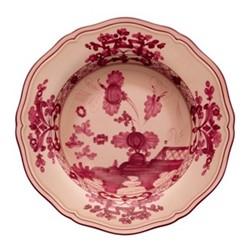 Oriente Italiano Soup plate, 24cm, vermiglio