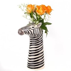Zebra Large flower vase, L12.5 x D19 x H26.5cm