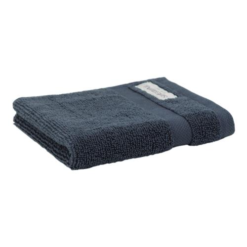 Organic Cotton Eden Hand towel, 50 x 100cm, Ink Navy