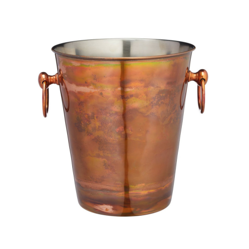 Champagne bucket, H24 x W20.5 x D23cm, Iridescent Copper