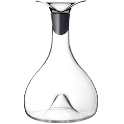 Thomas Sandell Wine carafe, Silicone, Stainless Steel And Glass
