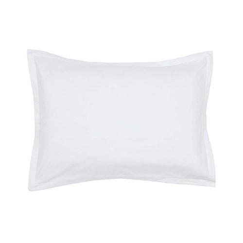 Calm Oxford Pillowcase, L50 x W75cm, White