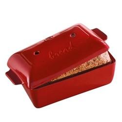 Bread loaf baker, 24 x 15 x 13cm -  2.2 Litre, burgundy