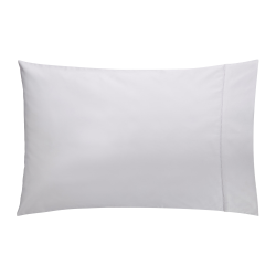 1000TC Cotton Sateen Pair of housewife pillowcases, 50 x 75cm, dove