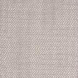 Herringbone Woven cotton rug, W122 x L183cm, dove grey