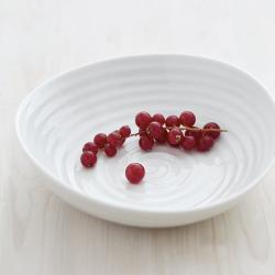 Ceramics Statement bowl, 36.5cm, White