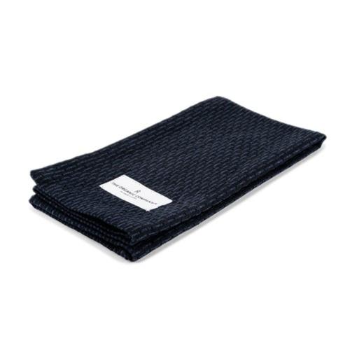 Pique Weave Kitchen wash cloth, 30 x 35cm, Dark Blue