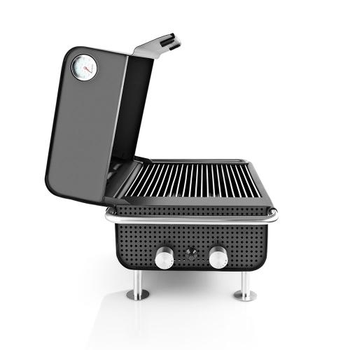 Box Gas grill, 34x60x40, Black