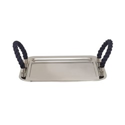 Serving tray, 36 x 30cm, stainless steel