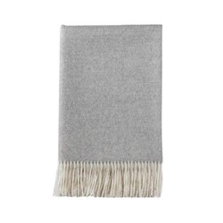 Vintage Throw, L180 x W130cm, silver