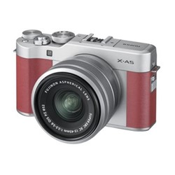 X-A5 Mirrorless camera with 15-45 mm f/3.5-5.6, 24.2MP, pink