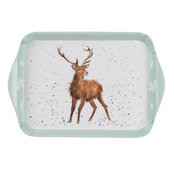 Wrendale Designs Stag scatter tray, 21 x 14cm