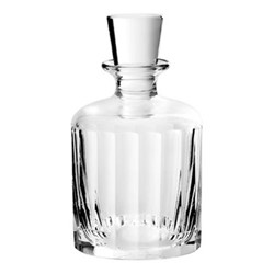 Fluted Small decanter, H14.5 x D7.6cm - 100ml, clear