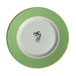 Harlequin - Green Giraffe Tea plate, 16.5cm, green