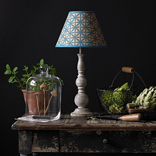 Otto Small table lamp - base only, H33 x W11cm, White