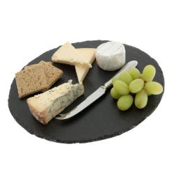 Round cheeseboard, D30cm, slate