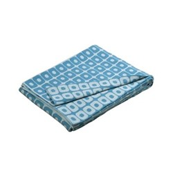 Loom Throw, 130 x 180cm, blue