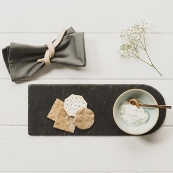 Perfect Pastels Serving set, stoneware/slate