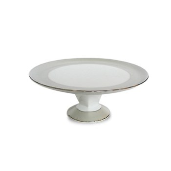 Tart or cake dish with foot 31.5cm