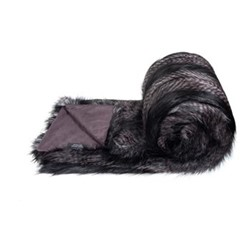 Signature Collection Bed runner - small, 214 x 145cm, black quail