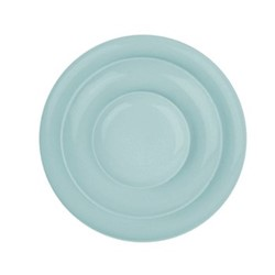 Shell Bisque Set of 4 dinner plates, 27.7cm, mist
