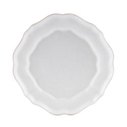 Impressions Set of 6 salad plates, 22cm, white