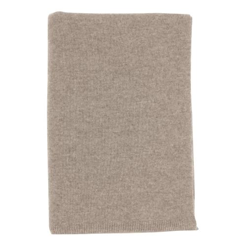 Cashmere throw, 190 x 130cm, Light Grey
