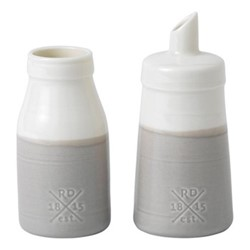 Coffee Studio Sugar & milk set, grey