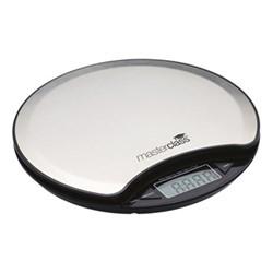 Electronic round platform scales, 5 kg