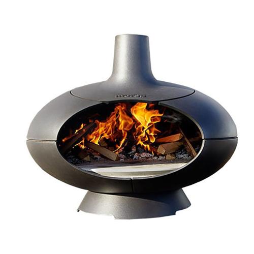 Forno Grill and oven, H60 x L75 x W68cm, Black