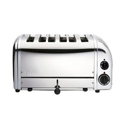Classic Bun toaster, 6 slot, polished