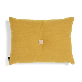 Steelcut Trio 1 Dot Cushion, H45 x L60cm, golden yellow