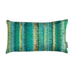 Textured Stripe Cushion, H30 x W50cm, moss