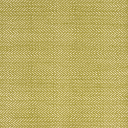 Herringbone Woven cotton rug, W76 x L244cm, citrus