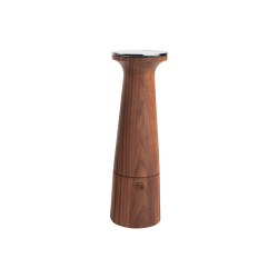 Oblique Salt mill, 20.5cm, Black Walnut