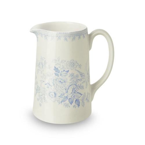 Asiatic Pheasants Tankard jug medium, 56.8cl - 1pt, Blue