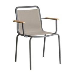 Fresco Armchair, flint/taupe