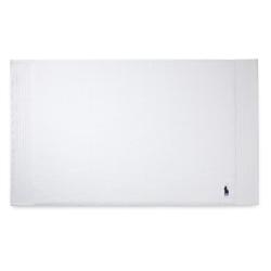 Player Bath mat, 55 x 90cm, White