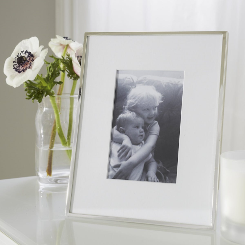 "Fine Silver Photograph frame, 4 x 6"""