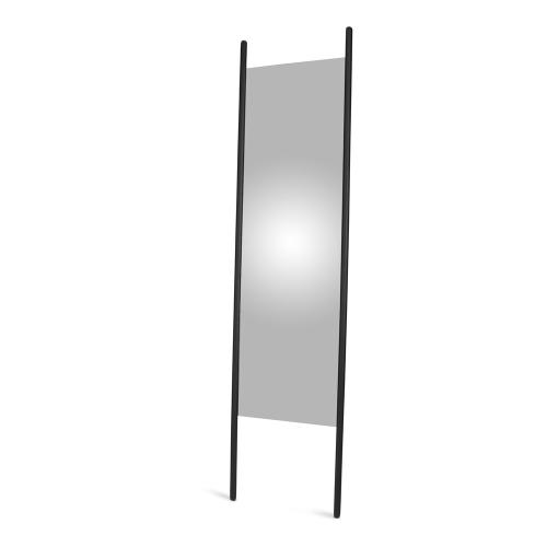 Georg Mirror, W55 x D3 x H190cm, Black